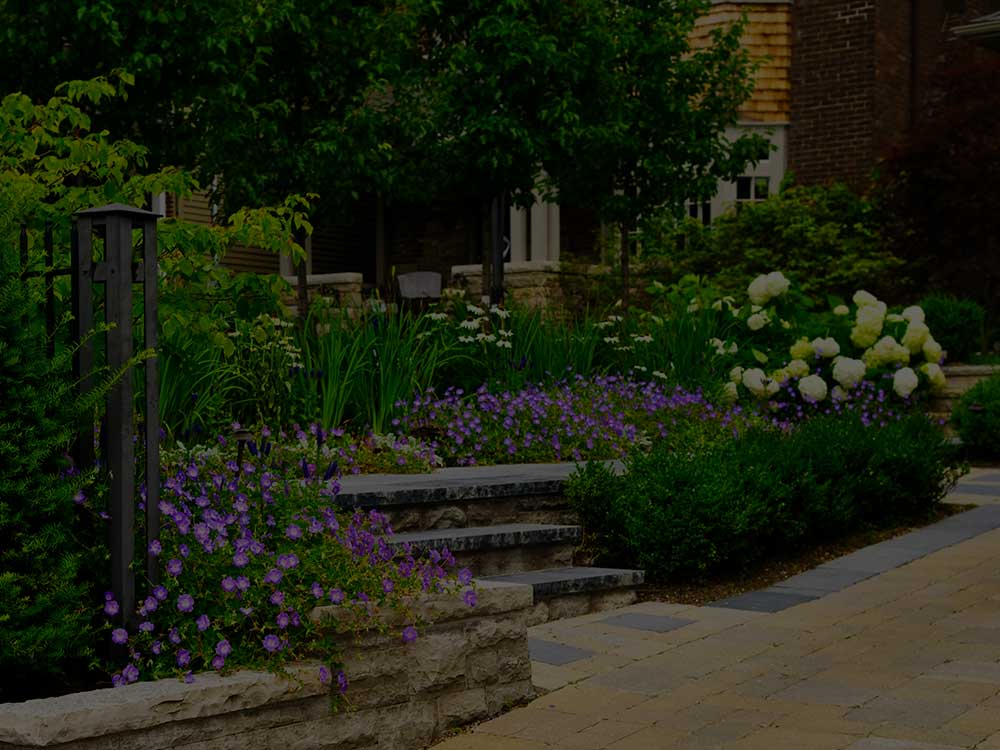East Lansing Commercial Garden Design