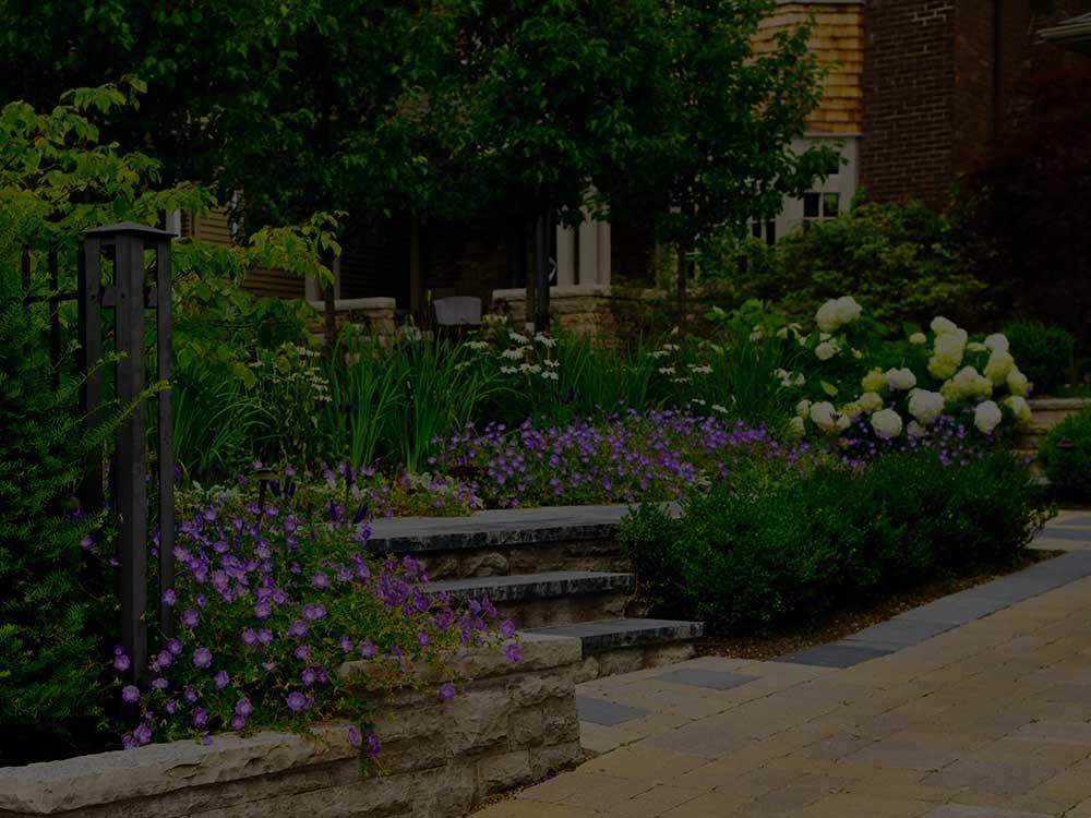 Lansing Commercial Garden Design