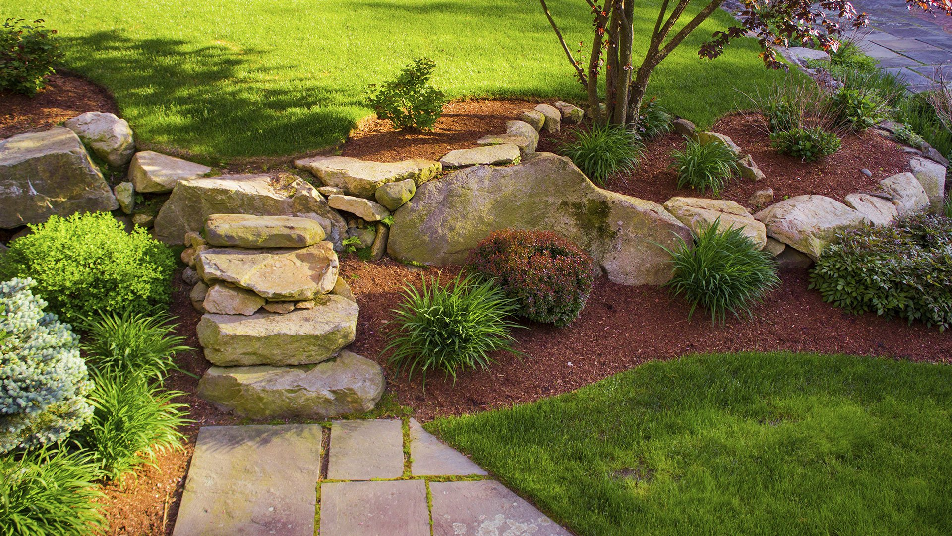 Cherry Oak Landscaping Lawn Care, Hardscapes and Retaining Walls slide 3